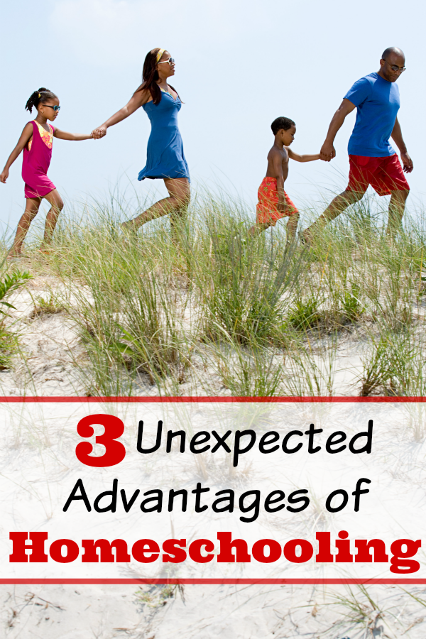 There are many unexpected advantages of homeschooling. We will investigate three of these. Which unexpected advantages of homeschooling are you enjoying the most?