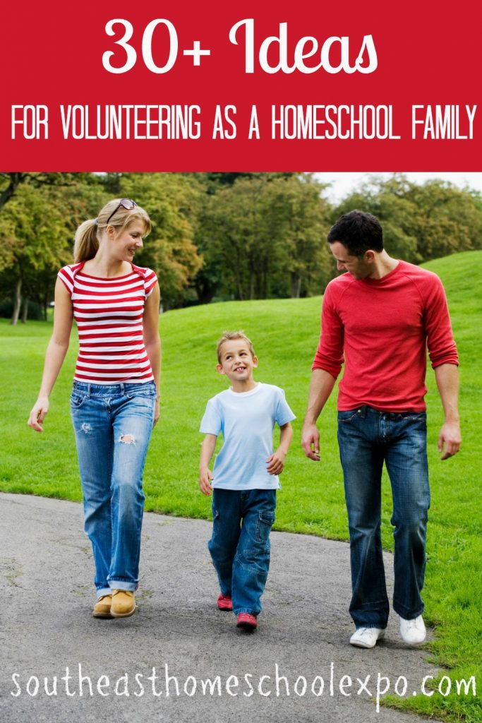The two greatest things we can teach our children is to love and to serve. Both of these can be done by volunteering as a family