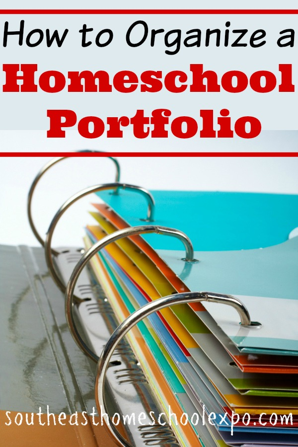 It is a good idea to keep a record of your homeschool child's schoolwork each year. One way to do this is by organizing a homeschool portfolio.