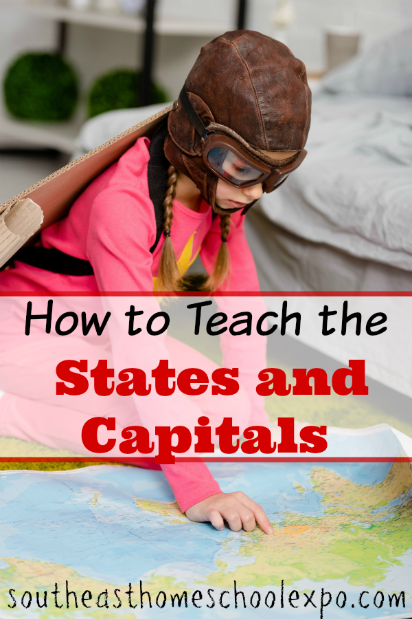 When it came time to teach my homeschoolers their states and capitals I wanted it to be FUN. Not dry and boring. Here are some ways I made that happen!